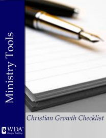 Christian Growth Checklist